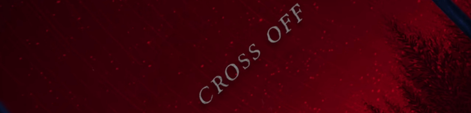 "Le titre ""Cross Off"" officiellement disponible !"